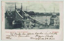 (013..067) Budapest - Franz Josef Brücke - Ungarn