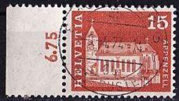 SCHWEIZ Mi. Nr. 880 O (6,75) Rand Links (A-5-24) - Schweiz