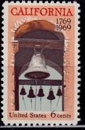 United States, 1969, California Settlement, 6c, Sc#1373, MNH - Etats-Unis