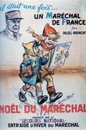 WW2 - Photo Affiche De Vichy - Noël Du Maréchal - 1939-45