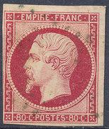 Stamp France Timbre 1853 80c Used Lot#59 - 1852 Luigi-Napoleone