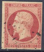 Stamp France Timbre 1853 80c Used Lot#60 - 1852 Luigi-Napoleone