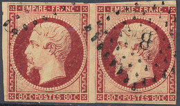 Stamp France Timbre 1853 80c Used Lot#66 - 1852 Louis-Napoléon