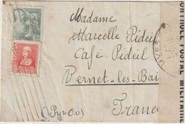 "Marcophilie : ""censura Nacionalista"" Carta De Censura. 1940 - Marcas De Censura Nacional"