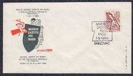 Yugoslavia 1964 Safety At Work, Commemorative Cover - Briefe U. Dokumente