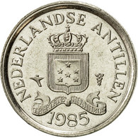 Netherlands Antilles, Juliana, 10 Cents, 1985, SUP, Nickel, KM:10 - Antilles Neérlandaises