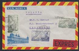 Spain Express Letter Sent To Netherlands - Spain