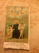 San Gaetano Da Thiene Santino Cromo Primi 900 - Santini