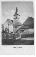 74 HAUTE SAVOIE L'église D'ARENTHON  Rare Cliché De Ce Village - Francia