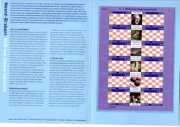 2002    Province Du Nord-Brabant, Feuillet De 12 X  1927**, Cote 14,40 €, Faciale 4,68 €, - Blocchi