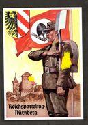 Col.  Ak Aus Serie Reichsparteitag 1938, Photo Hoffmann Nr. 38/10, RADMann Vor Nürnberger Burg! - Allemagne