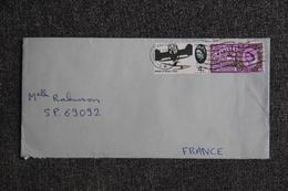 Lettre D'ANGLETERRE ( COULSDON - SURREY) Vers Secteur Postal 69092 - 1952-.... (Elizabeth II)