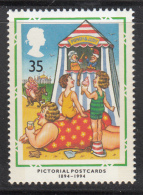 Great Britain 1994 MNH Scott #1556 35p Punch And Judy Show - Postcards - Marionnettes