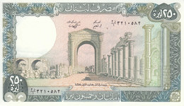 LEBANON 250 LIVRES 1988 P- 67e UNC */* - Lebanon
