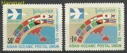 Philippines 1977 Mi 1189-1190 MNH ( ZS8 PLP1189-1190 ) - Filippine