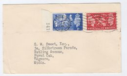 1951 GB FDC Festival Of Britain Stamps Cover - FDC