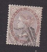 Jamaica, Scott #12, Used, Victoria Issued 1870 - Jamaica (...-1961)