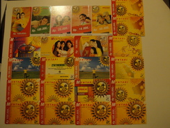23 Remote Phonecards From Indonesia - Sun - Indonesia
