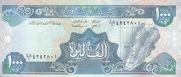 LEBANON 1000 LIVRES 1990 P- 69b UNC */* - Lebanon