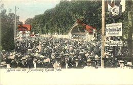 GRUSS AUS DER AUSSTELLUNG CASSEL, 1905, VINTAGE POSTCARD - Vari