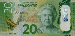 NEW ZEALAND 20 DOLLARS ND (2016) P-193a UNC [NZ139a] - Nieuw-Zeeland