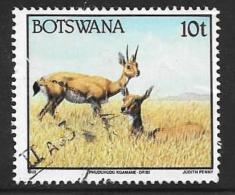 Botswana, Scott # 522 Used Wild Animals, 1992 - Botswana (1966-...)