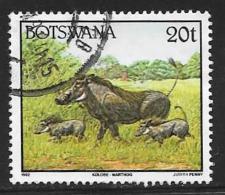 Botswana, Scott # 525 Used Wild Animals, 1992 - Botswana (1966-...)