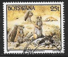 Botswana, Scott # 526 Used Wild Animals, 1992 - Botswana (1966-...)