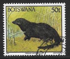 Botswana, Scott # 530 Used Wild Animal, 1992 - Botswana (1966-...)