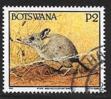 Botswana, Scott # 533 Used Wild Animal, 1992, Crease - Botswana (1966-...)