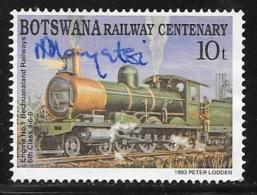 Botswana, Scott # 550 Used Locomotive, 1993 - Botswana (1966-...)