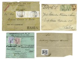 PORTUGAL, Covers, Ave/F - Cartas