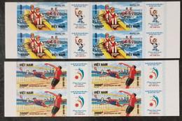 Block 4 Of Vietnam Viet Nam MNH Imperf Stamps 2016 : 5th Asean Beach Games In Da Nang / Volleyball (Ms1071) - Vietnam