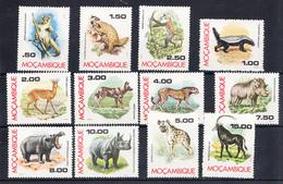 MOZAMBIQUE 1976. FAUNA DE MOZAMBIQUE . NUEVOS SIN CHARNELA. CECI 2 Nº 165 - Sellos