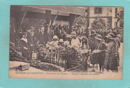 Old/Antique? Postcard Of Centenaire De Pasteur,Chemin De Marnes, Marnes-la-Coquette, France,V49. - France