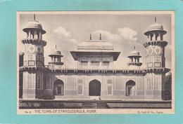 Old/Antique? Postcard Of The Tomb Of Etmaduddaula,Fort Agra,Lahore, Pakistan,,V49. - Pakistan