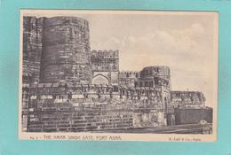 Old/Antique? Postcard Of The Amar Singh Gate,Fort Agra,Lahore, Pakistan,,V49. - Pakistan