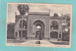 Old/Antique? Postcard Of The Gate Of Etmaduddaula,Fort Agra,Lahore, Pakistan,,V49. - Pakistan