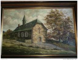 Francheville Stavelot  Peintre Etienne Malmedy - Oils