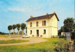 Mars-sur-Allier (Nièvre) - La Gare, 4L Renault - Editions Nivernaises - Carte Non Circulée - Francia