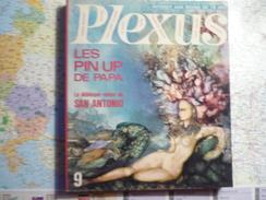 Plexus N°9 1967 Les Pin Up De Papa / Le Débloque-notes De San Antonio - Livres, BD, Revues