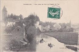 Cpa CHAROLLES - Vue Prise De Pont Du Chemin De Fer - Charolles