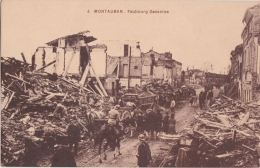 Cpa MONTAUBAN - Faubourg Gasseras (inondations De 1930) - Montauban
