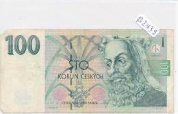 Billets -B2939-Tchécoslovaquie - 100 Korun  (type, Nature, Valeur, état... Voir  Double Scans) - Tchécoslovaquie