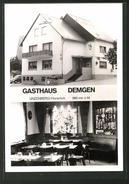 AK Unzenberg / Hunsrück, Gasthaus Demgen, Innenansicht - Unclassified
