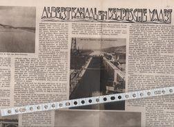 ALBERTKANAAL EN KEMPISCHE VAART...1934... - Oude Documenten