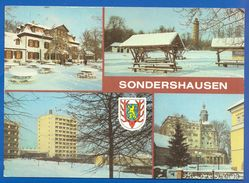 Deutschland; Sondershausen; Multibildkarte Mit Gaststätte Zum Possen - Sondershausen