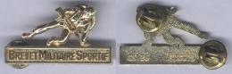 Insigne Du Brevet Militaire Sportif - Echelon Or - ( FAMAS ) - Army