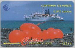 CAYMAN ISLANDS - ORANGE BUOYS - 131CCID - Cayman Islands