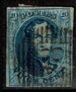 11  Obl  28  Ciney (+6) - 1858-1862 Médaillons (9/12)